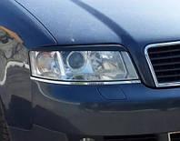 Реснички для фар Audi A6 1997-2003 C5