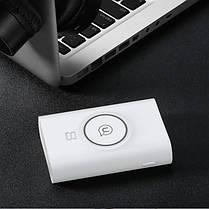 Портативная батарея Usams+Wireless Charging Pad US-CD31 Wish Series 8000 mAh White, фото 2