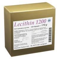 Лецитин1200мг капсулы 100шт. Германия
