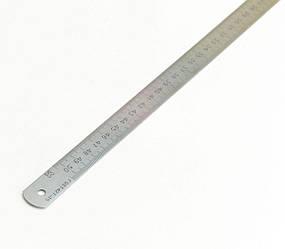 """Лінійка металева 0,5 м ГОСТ 427-75 """"Стіз"""""""