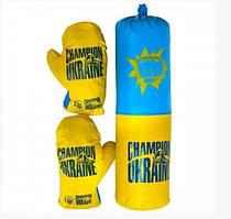 """Боксерский набор """"Чемпион Украины"""" 45х13 см для детей от 5 лет Danko Toys"""