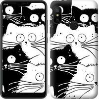 Чехол EndorPhone на Xiaomi Mi A2 Lite Коты v2 3565m-1522, КОД: 345009