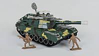 Танк инерционный  Small Toys М1 А2-С18 Зеленый 2-551311, КОД: 1250523
