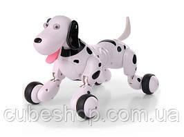 Радиоуправляемая собака-робот Happy Cow Smart Dog (черный)
