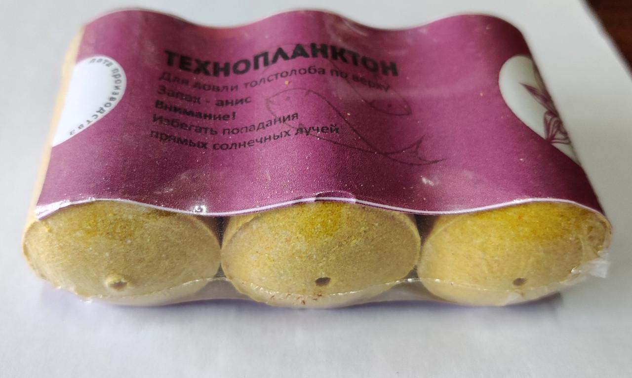Технопланктон Lucky Ebisu 3x75 грамм Анис Гейзер