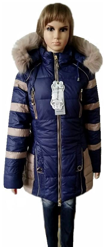 Зимові пальто для дівчинки