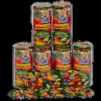 Крышка закаточная хозяйственная СКО I-82 100 шт литографированная полноцветная (овощи, фрукты, ягоды) Полинка