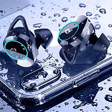 Bluetooth-гарнитура Kumi T3S TWS Bluethooth Earphone Black Global, фото 2