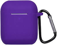 Кейс TOTO 2nd Generation Silicone Case AirPods Purple 101690, КОД: 1305916