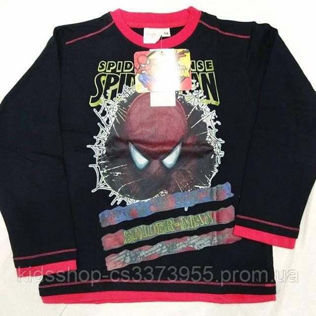 Детская кофта реглан для мальчика Человек-паук