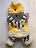 Зимний комбинезон Зимній осінній комбінезон зимняя одежда для собак осенний комбинезон тёплая одежда для собак