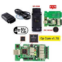 Диагностический адаптер OP-COM v1.70 PIC18F458 для Opel/SAAB
