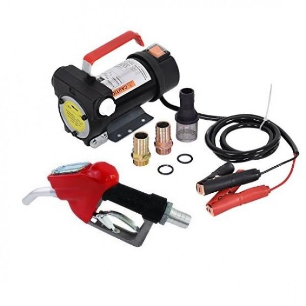 Установка для перекачки дизеля (насос, топливный пистолет со счетчиком, шланги) REWOLT RE SL001C-12V 12в