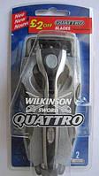 Бритва Wilkinson Sword Quattro Razor + 2 blades из Германии, фото 1