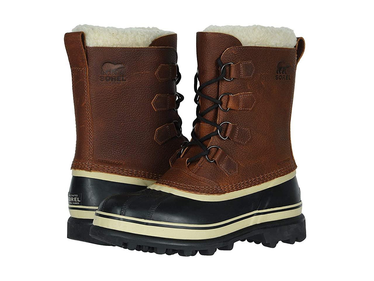 Ботинки/Сапоги (Оригинал) SOREL Caribou Wool Tobacco