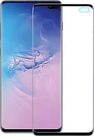 Защитное стекло TOTO 5D Full Cover Tempered Glass Samsung Galaxy S10 Black 87230, КОД: 1301614