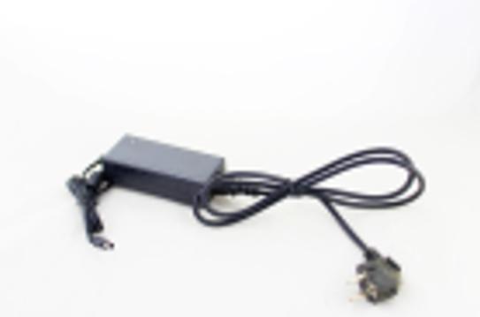 Адаптер 12V 6A Пластик + кабель (роз'єм 5.5*2.5 mm)