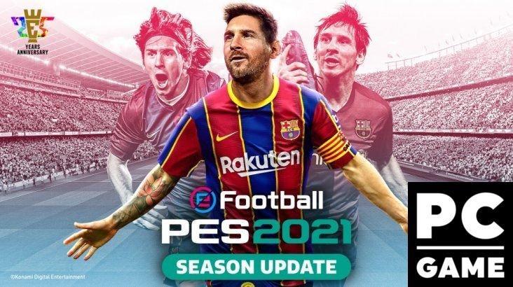 EFootball PES 2021 SEASON UPDATE FC BARCELONA EDITION PC