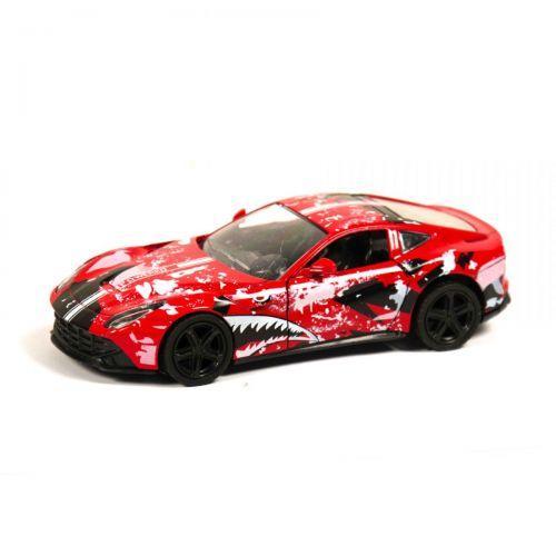 """Машинка """"Ferrari"""" из серии """"Автопром"""" (красная) 7856"""