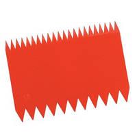 Скребок пластиковый прямоугольный