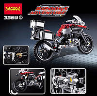 Конструктор Decool 3369B Мотоцикл, 603 детали, фото 1
