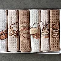 Кухонні рушники в наборі 6шт 100%бавовна Туреччина