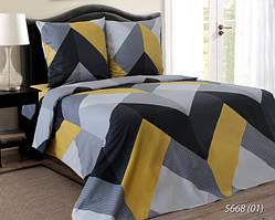 Комплект постельного белья семейный ЗИГЗАГ( нав. 70*70)