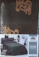 Комплект постельного белья Евро сорт2,цвет551,рис.0 МАРАКЕШ( под. 220*210, пр 240*214, нав 50*70-2 шт)100лен%