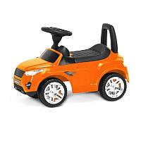Детская машинка-каталка (Оранжевая), (Оригинал)