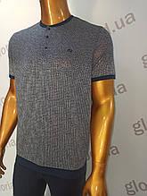 Мужская футболка  Caporicco. PSL-8830. Размеры: M,L,XL,XXL.