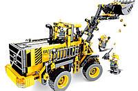 Конструктор трактор погрузчик Technique 701701, 688 деталей, пластиковый, для мальчика 6 7 8 лет, фото 1