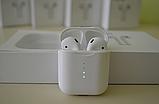Бездротові навушники i10 TWS Оригінал mini аирподс блютус в стилі аерпоц + Бездротова зарядка в ПОДАРУНОК, фото 6