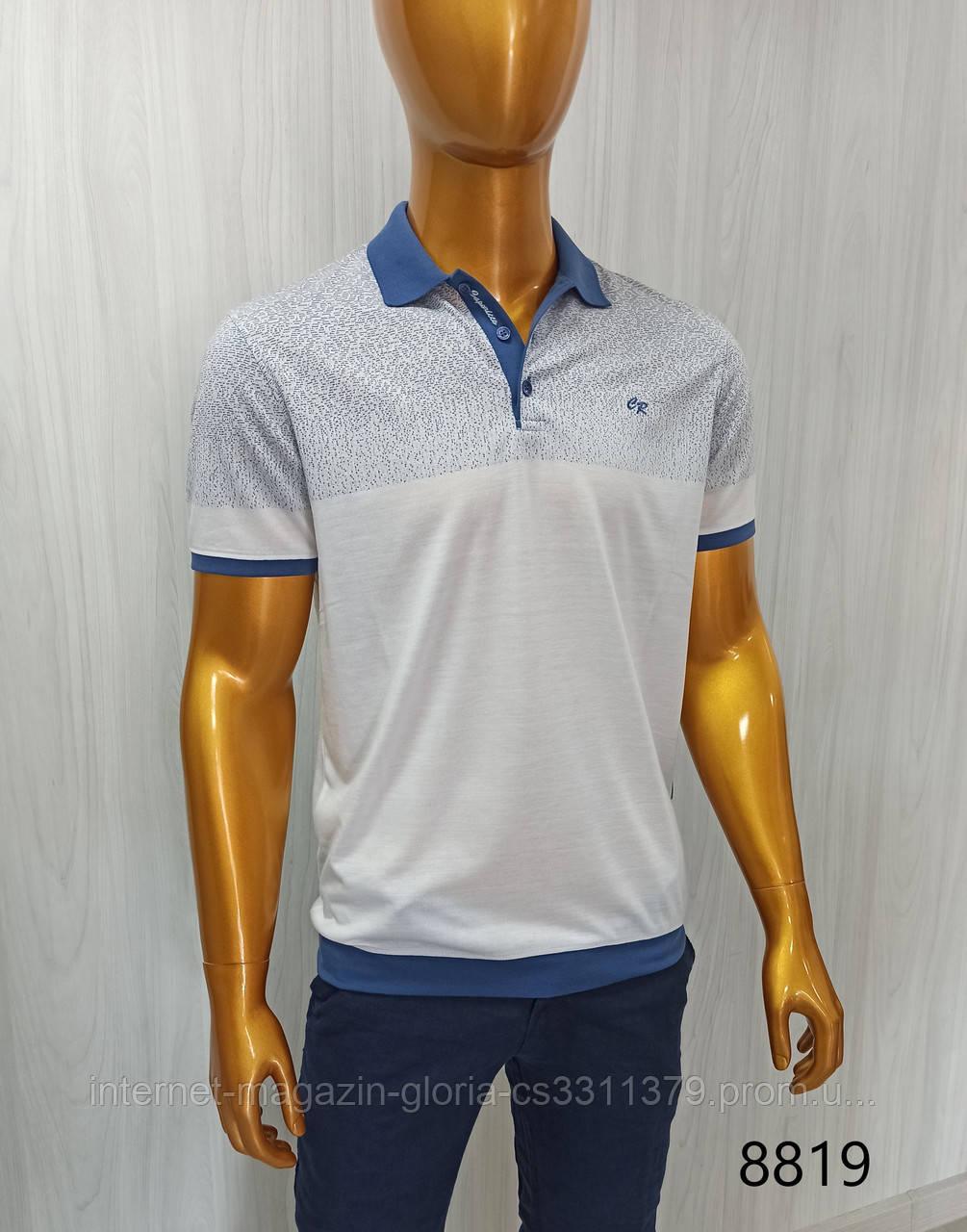 Мужская футболка поло Caporicco. PSL-8819. Размеры: Батал 2XL(2),3XL,4XL/