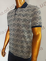 Мужская футболка поло Caporicco. PSL-8831. Размеры:  Батал 2XL(2),3XL,4XL., фото 1