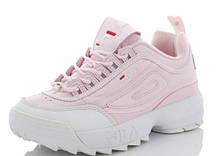Кроссовки женские FILA розовые SportLine-B2925-4