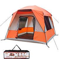 Палатка 4+1 местная GreenCamp 10, автомат.