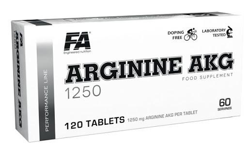 Аргинин ARGININE AKG 1250  120 таблеток