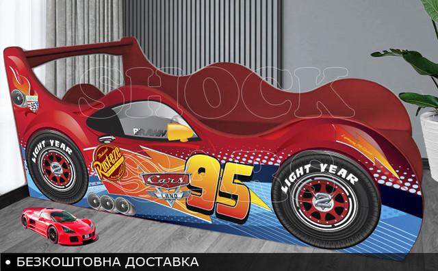 Кровать машина Тачки Шок Драйв купить с бесплатной доставкой украина киев