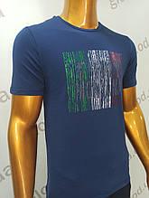 Мужская футболка Tony Montana. MSL-2062(си). Размеры: M,L,XL,XXL.
