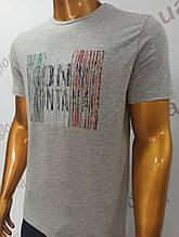 Мужская футболка Tony Montana. MSL-2062(се). Размеры: M,L,XL,XXL.