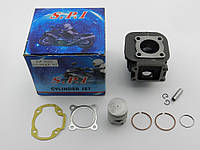 Цилиндр (в сборе) Yamaha Jog 2JA/BWS/Gear/ 50cc, SPI/SEE Тайвань, фото 1