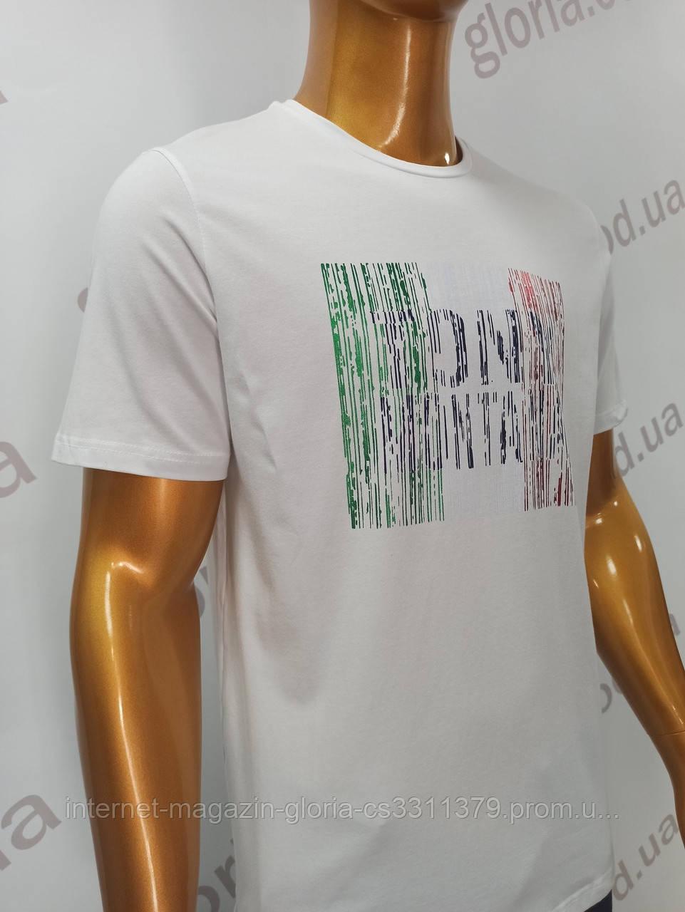 Мужская футболка Tony Montana. MSL-2062(be). Размеры: M,L,XL,XXL.