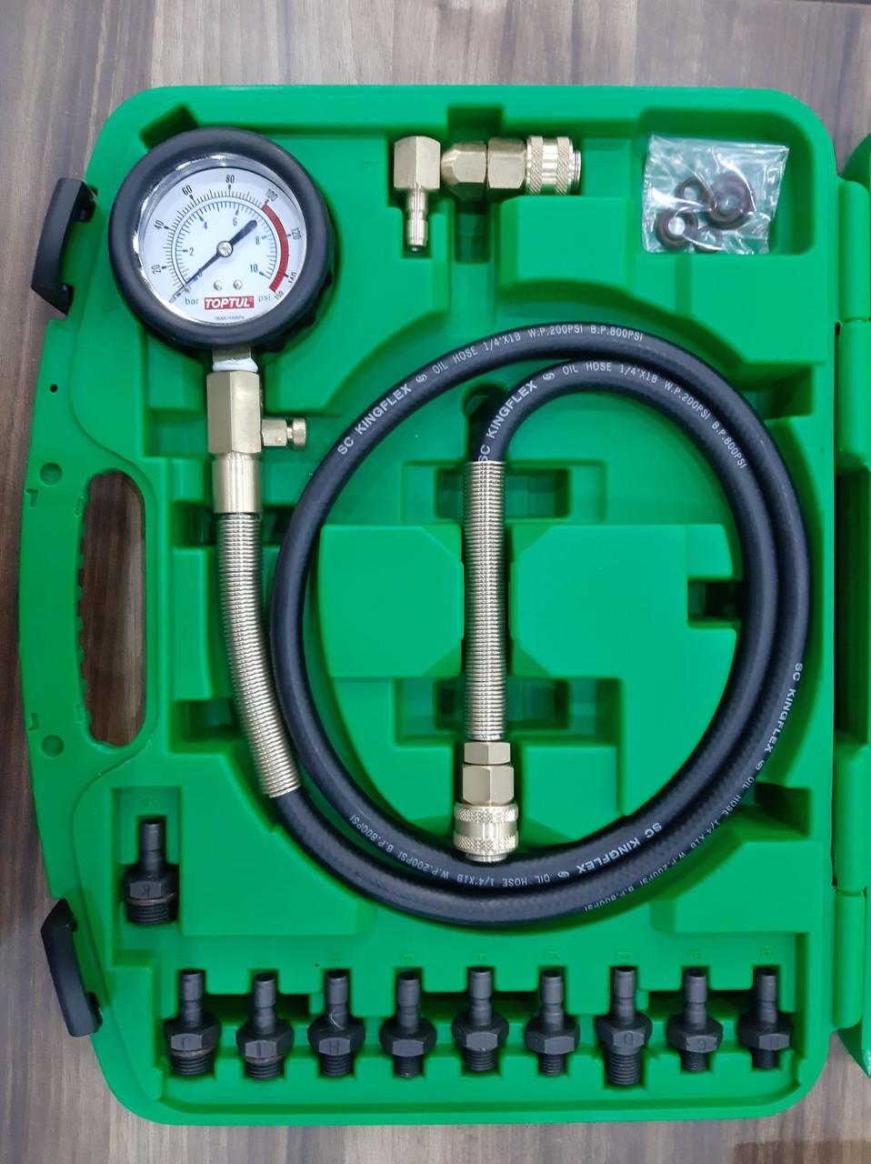 Тестер тиску масла 12ед. TOPTUL JGAI1204