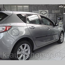Молдинги на двері для Mazda3 (BL) 5Dr 2008-2013