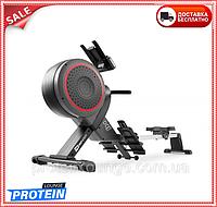 Гребной тренажер Hop-Sport HS-100AR Roam Gray + mat
