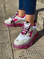 Женские кроссовки Balenciaga Triple S. Стильные женские кроссовки Баленсиага. , фото 1