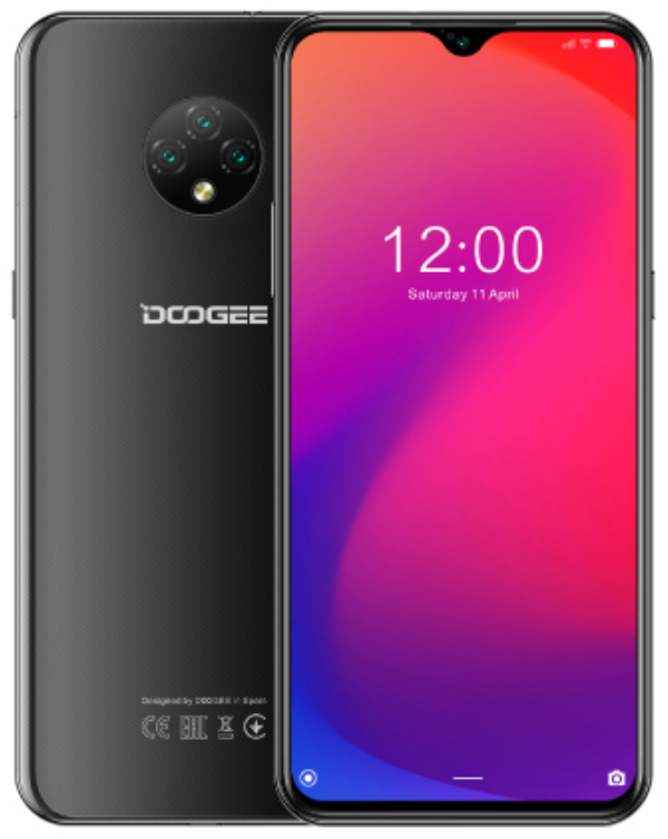 Doogee X95 2/16 Gb black, 4G