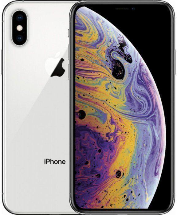 Смартфон Apple iPhone XS Max 64GB Silver (MT512) (Відновлений)