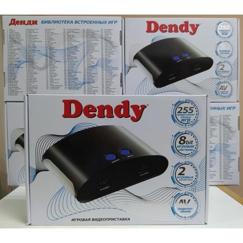 Игровая приставка Dendy 8 bit White со встроенными 255 играми Супер Марио Танчики Contra Dendi