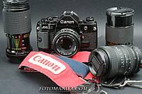 Canon A-1 kit nFD 50mm f1.8 + Power drive + 3 об'єктива, фото 1
